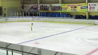 Екатерина Бессонова 3 юношеский разряд (1 место)