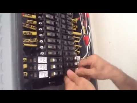 How to install a Square D Arc Fault breaker why  YouTube