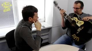 """Вячеслав Мясников. Уроки игры на гитаре для """"Комсомольской правды"""""""