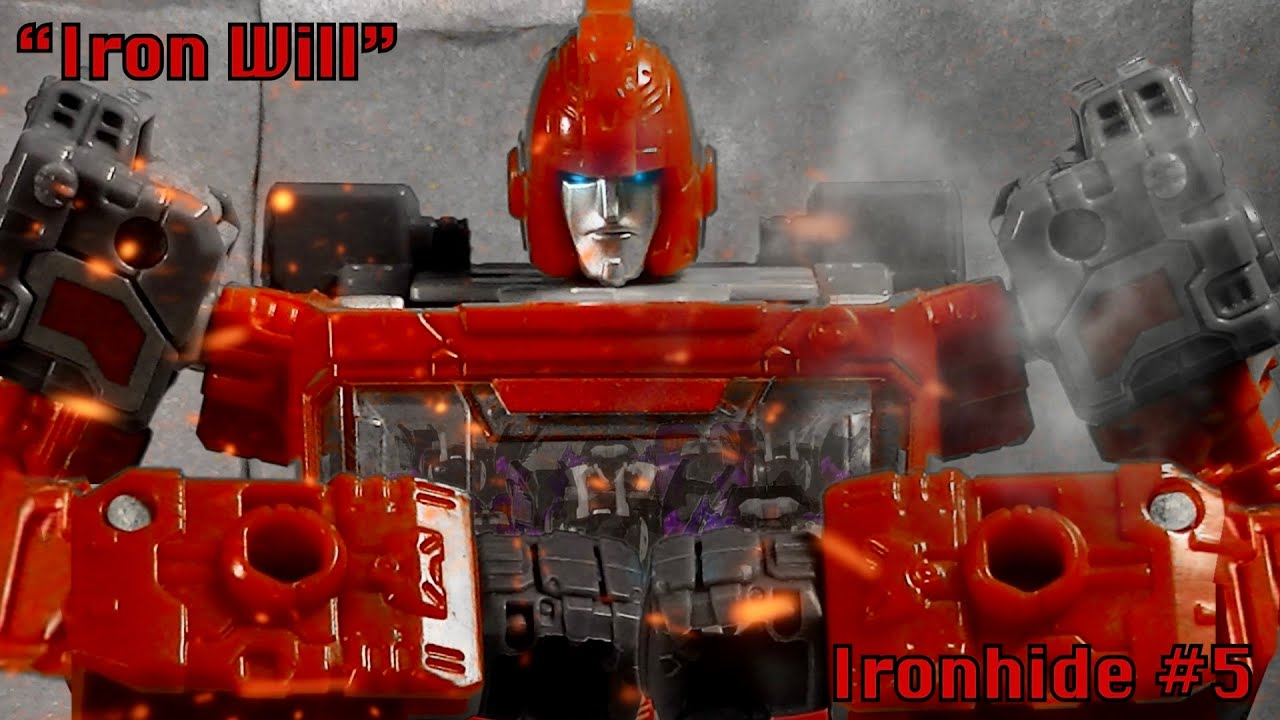 """Ironhide: A Transformers Story   Chapter 5- """"Iron Will"""""""