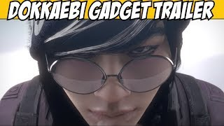 Rainbow Six Siege DOKKAEBI Trailer & gadget ability all weapon in-deph loadout Korean Operator bio