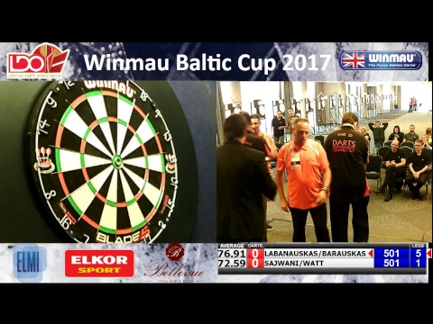 Baltic Cup 2017 mens pairs final