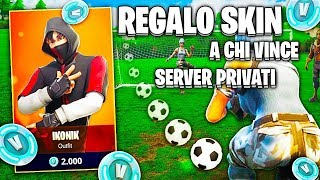 🔴SERVER PRIVATI Open AND SKIN REGALO TO WINNERS!! LIVE FORTNITE ITA SERVER OF STEP!!