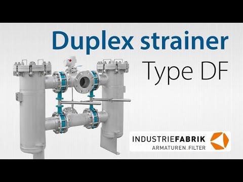 Doppelfilter, umschaltbar (Duplex type strainers) Typ DF