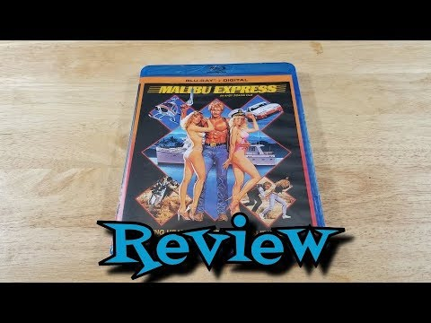 Malibu Express Blu-Ray Unboxing and Review – Comedy – Crime – Mystery