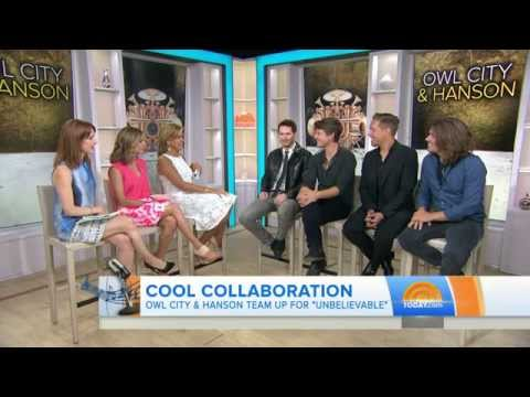 Owl City and Hanson on The Today Show (Interview)