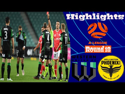 Western United Wellington Phoenix Goals And Highlights