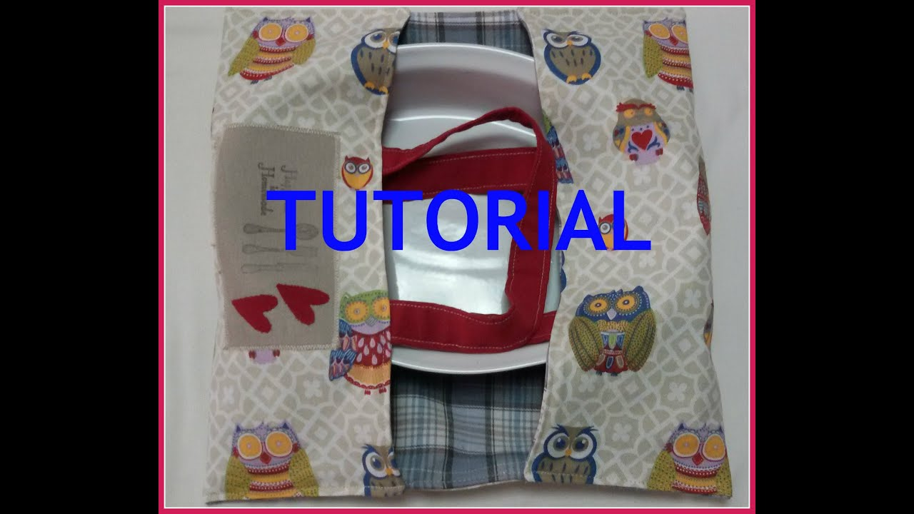Porta torta tutorial cucito creativo youtube for Cucito creativo youtube