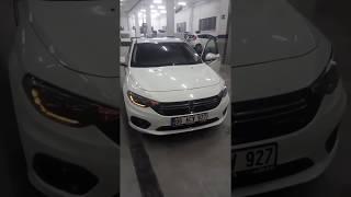 Fiat Egea Hatchback Kayar Sinyal ve Katlanır Ayna Yapımı
