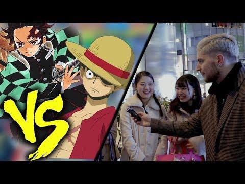 ONE PIECE vs DEMON SLAYER (d'aprés les japonais)