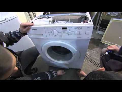 diy r paration lave linge indesit wil105 doovi. Black Bedroom Furniture Sets. Home Design Ideas