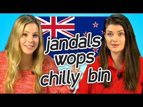 Watch these Aussie women guess New Zealand Slang