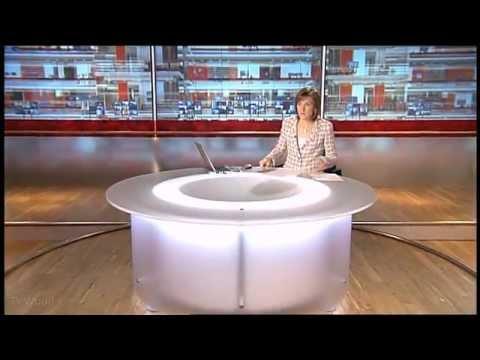 BBC News at Six - Opening titles 2004 - 2006