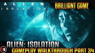 Alien: Isolation Walkthrough Part 34 - Robotic Invasion