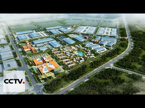 Construction d'un parc industriel sino-biélorusse