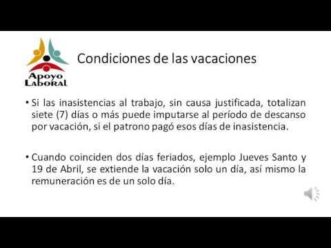 Vacaciones Legales En Venezuela Apoyo Laboral Venezuela