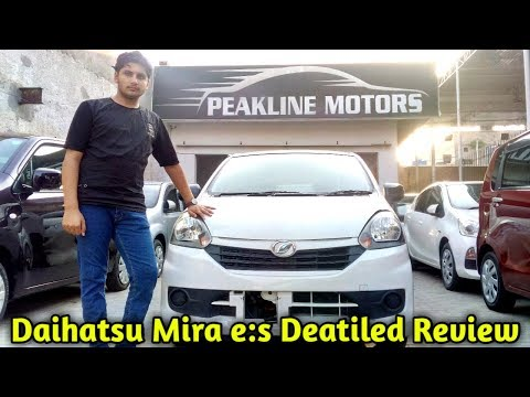 Most Economical Car In Pakistan! - Daihatsu Mira E:S In-Depth Review - Price - Specs & Features