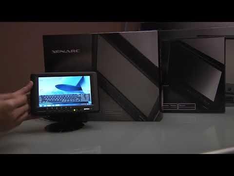 "7"" Industrial Sunlight Readable Rugged LCD Display Monitor 702TSV"