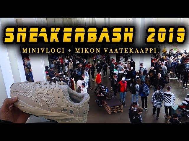Käytiin tsekkaa Sneakerbash 2019!