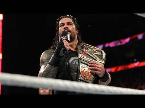 Off-air: Roman Reigns opens up about his WWE World Heavyweight Title win