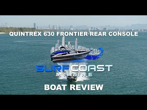 Quintrex 630 Frontier Rear Console - Boat Review