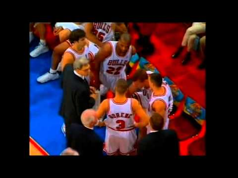 Boris Gorenc with the Chicago Bulls-McDonald's Open '97 | redbasketzone.blogspot.com
