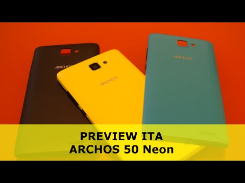 Archos 50 neon: PREVIEW ITA by TechDifferent