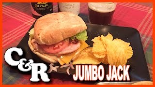 Jack In The Box ♥ Canadian Style ♥ Jumbo Jack Recipe! Cook & Review | KBDProductionsTV