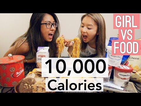 10,000 CALORIE CHALLENGE | GIRL ENGINEER vs FOOD 🍔🍦🍪🍟
