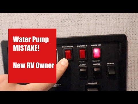 Rv water hookup