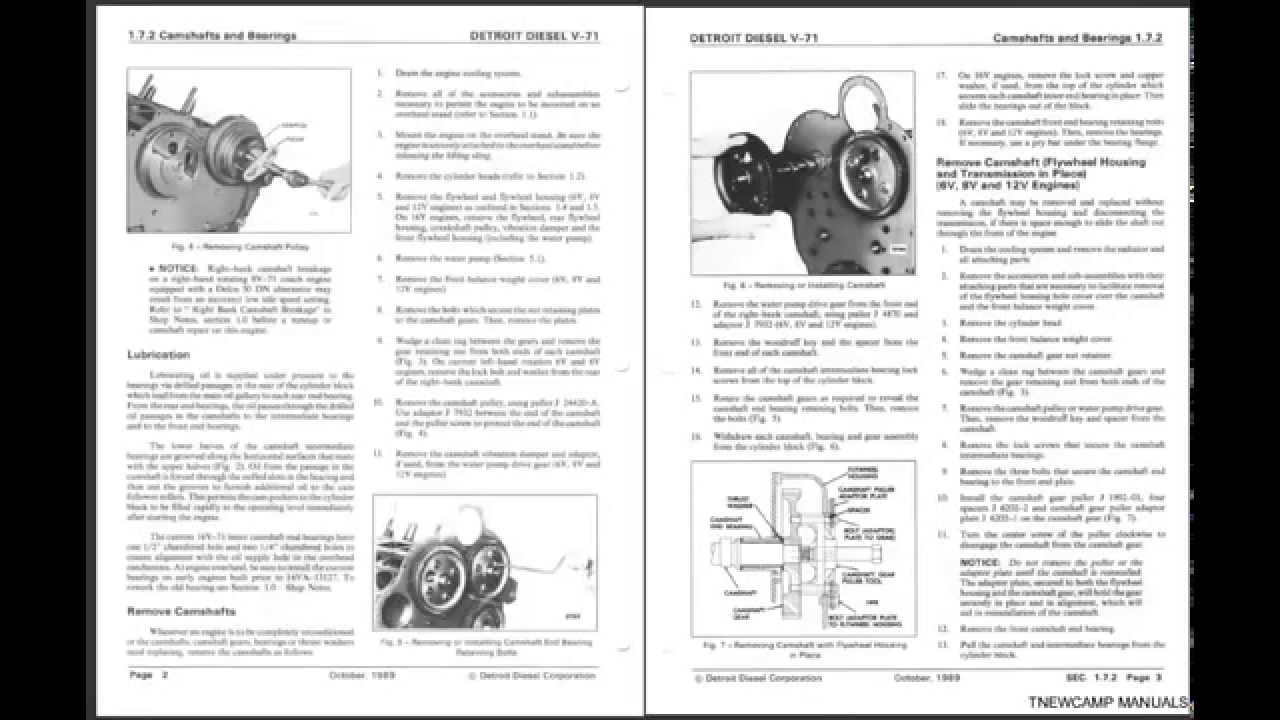 detroit diesel v71 service manual pdf cd youtube rh youtube com Detroit Diesel Engines detroit diesel v71 service manual