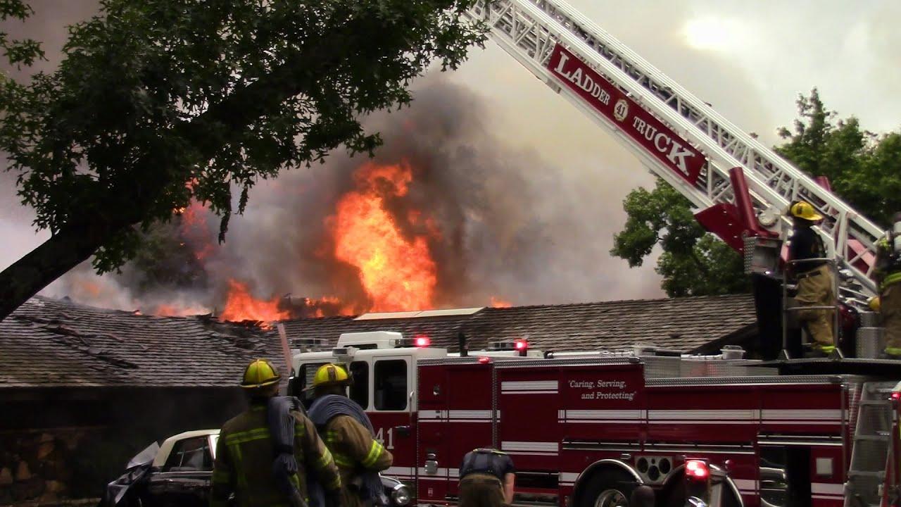 4 Alarm Structure Fire Dallas Fire Rescue