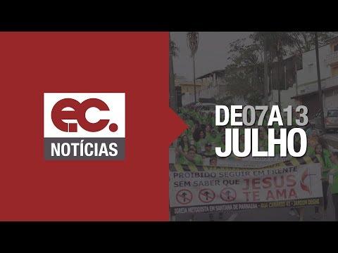 EC Notícias #003 - Concílio Mundial Metodista - no Cenáculo - Projetos Missionários