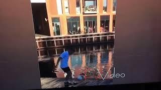 Fortnite kick ups emote in real life!!!