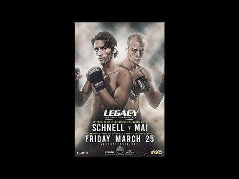Legacy 52 Prelims - Jesse Roberts vs Eric Duhon
