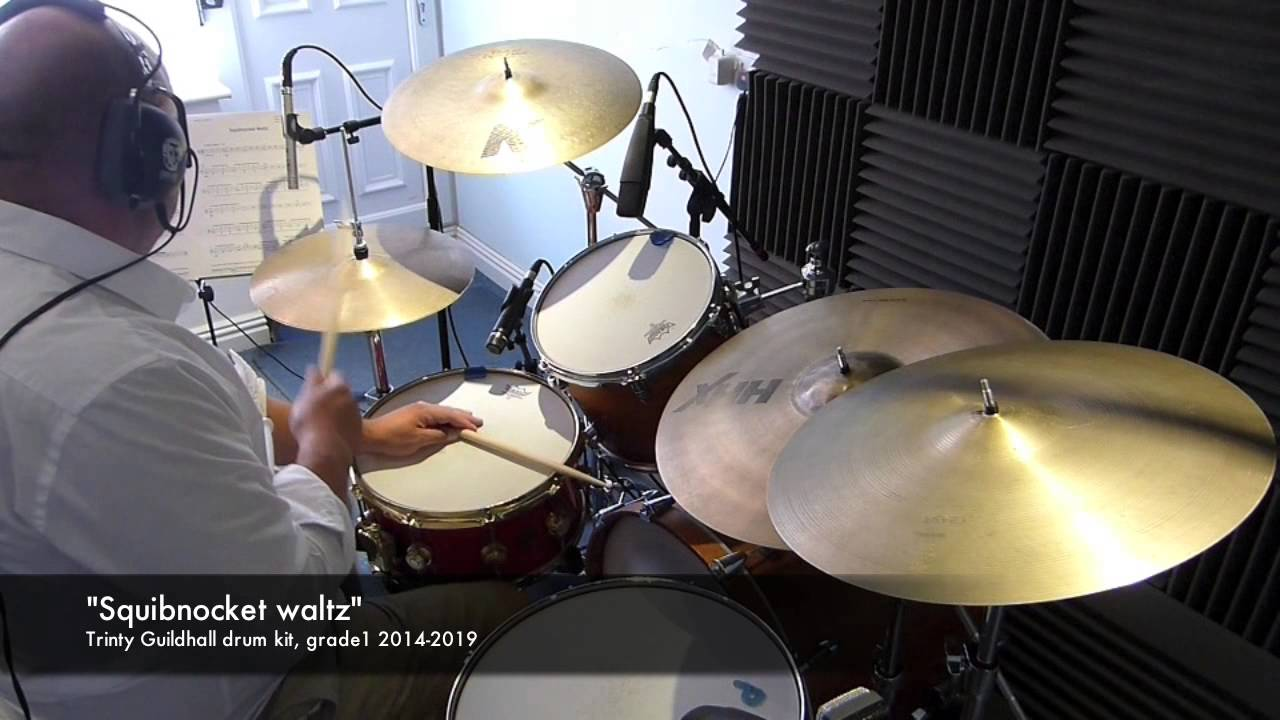 Trinity Drum Kit Syllabus