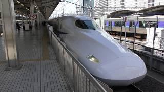 【4K】2018年5月9日撮影。新幹線発車シーン