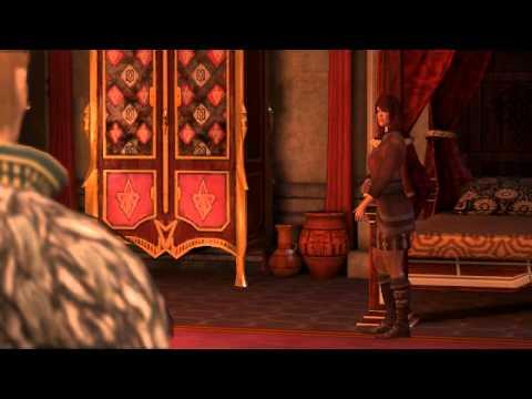 Anders Romance Scene (Dragon Age 2) (Female Rogue)