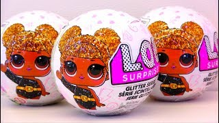 Toys and Dolls LOL Glitter Series Review for kids Unboxing LOL Surprise toys for kids  Grandmother's