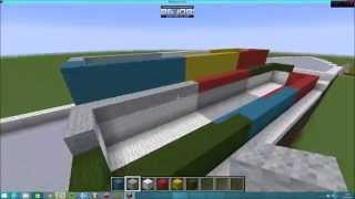 Minecraft Cargo/container ship timelapse