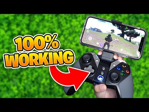 Fortnite Mobile USING A CONTROLLER *WORKING* 100%
