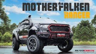 MOTHER FALKEN RANGER // Ford Ranger Build - Moto Metal MO202, Falken MT01 Tyres    AutoCraze 2017