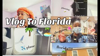 Vlog To Florida With Me | ellysha swagg