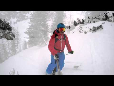 Faloria - Cortina neve fresca a fine aprile