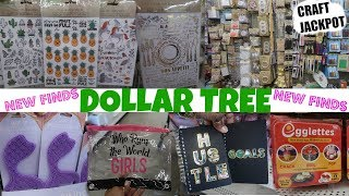 DOLLAR TREE * NEW FINDS!!! CRAFT JACKPOT & MORE!!!
