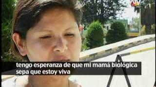 Peruana adoptada por familia inglesa viene al Perú en busca de su madre