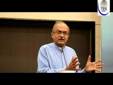 Prashant Bhushan Speaks At Khauf Se Azadi Programme Held At Constitution Club   Umar Khalid
