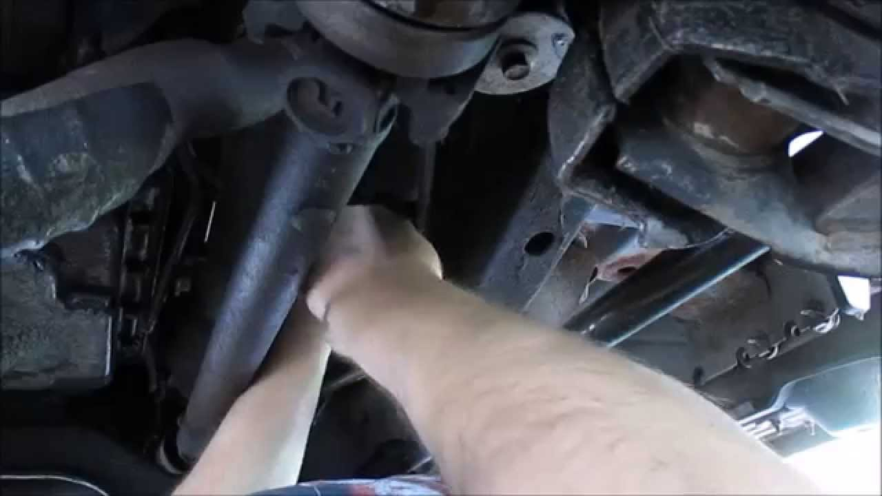 Ford Explorer Fuel Filter Replacet - YouTube