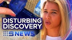 Hidden camera found on Sydney beach | Nine News Australia