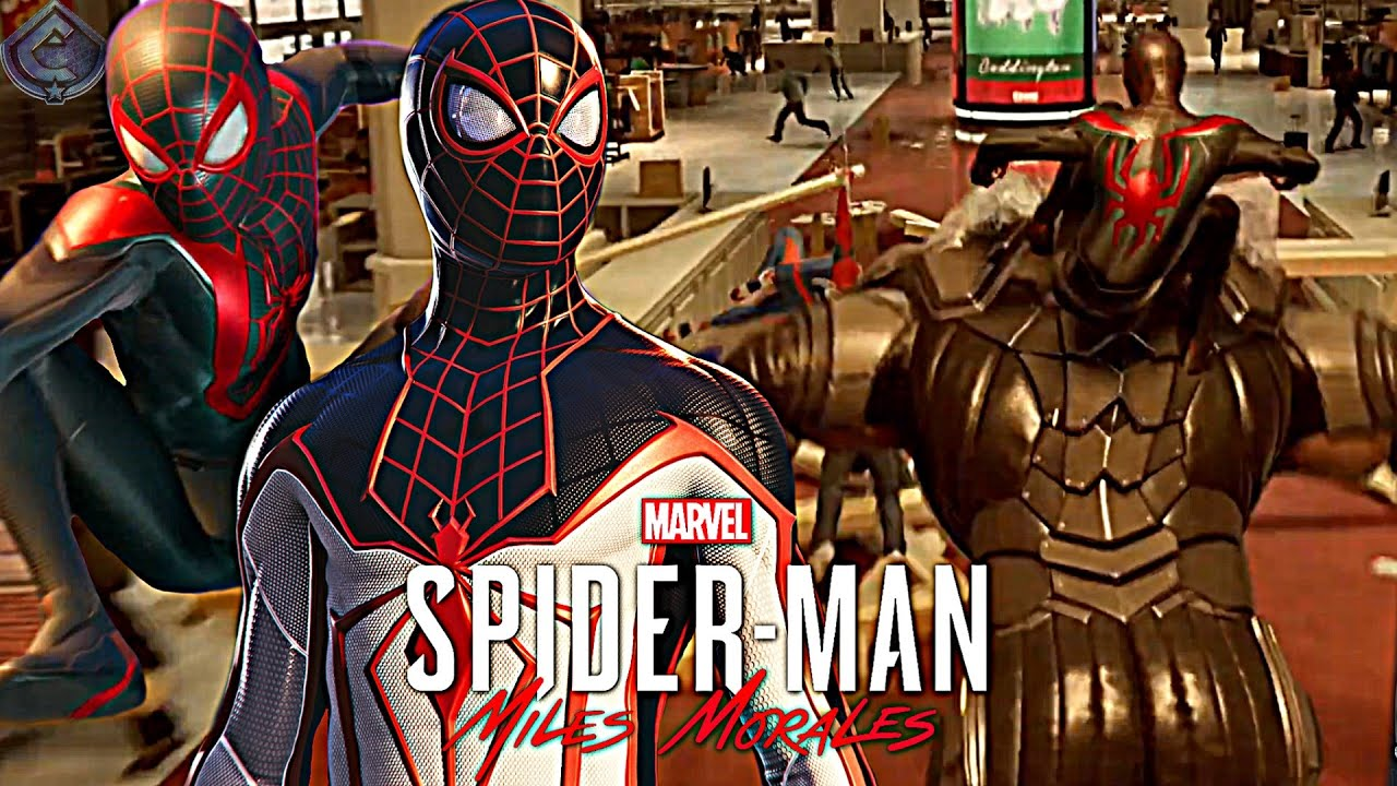 Download Spider-Man: Miles Morales PS5 - New Rhino Chase Gameplay, Combat Details and More!